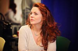 Rachel in Rehearsal