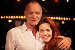 Sting and Rachel