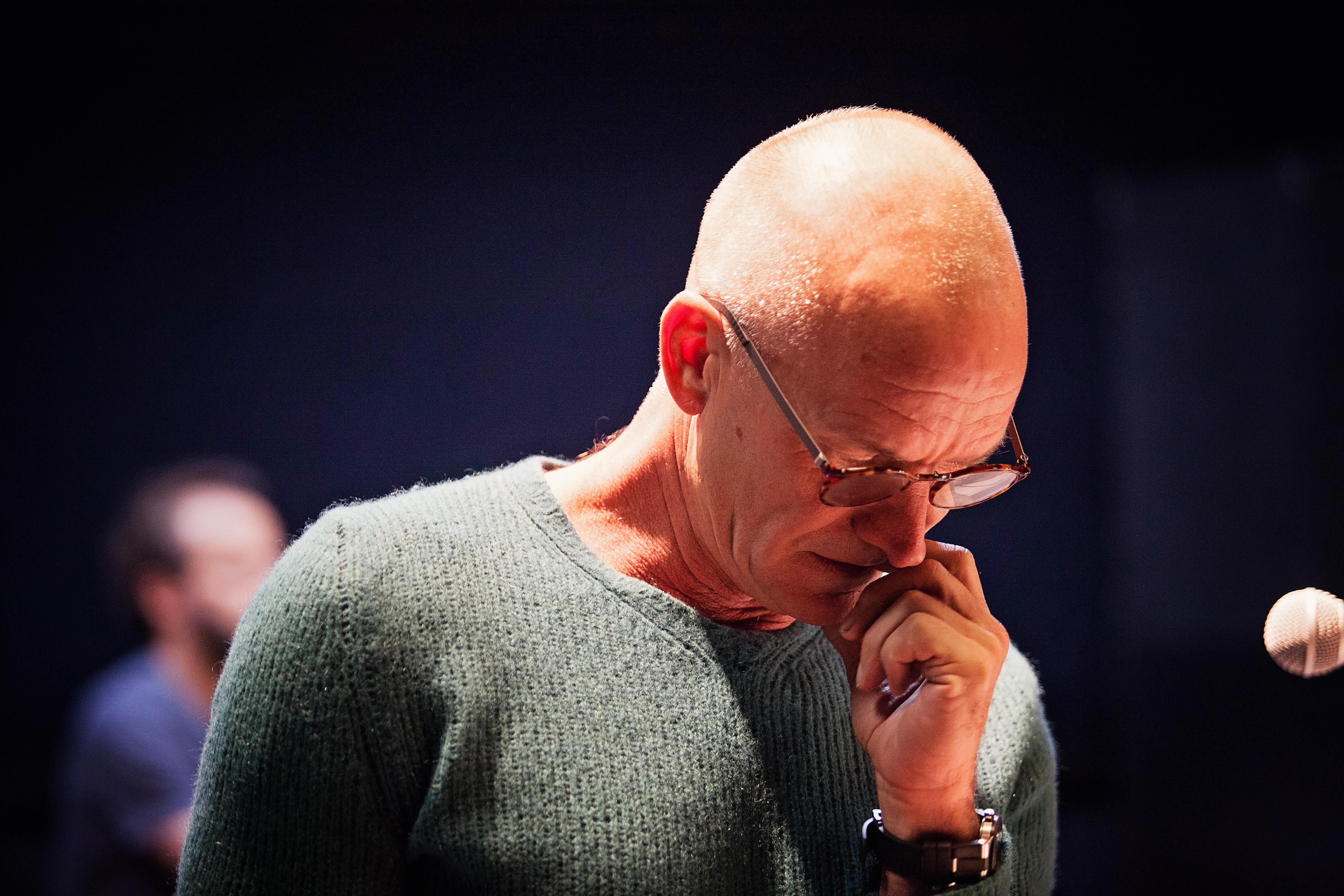 Sting at Band Rehearsal