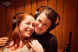 Dawn and Alyssa Recording