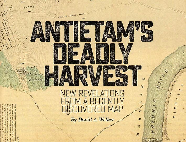 Antietam's Deadly Harvest Cover Closeup.