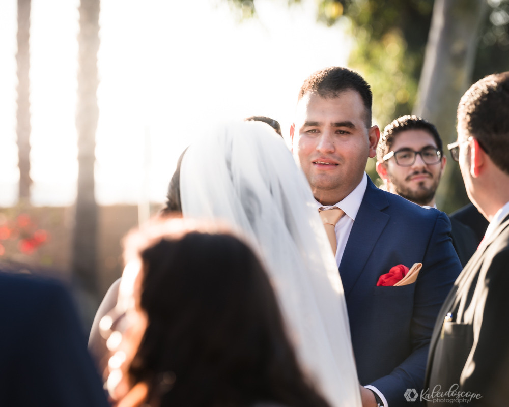 Groom Crying seeing his bride for the first time
