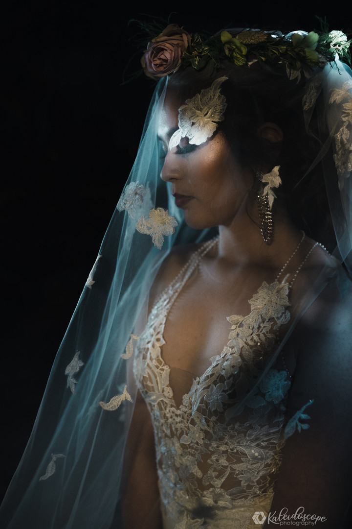 creative-bridal-portrait-with-bridal-gow