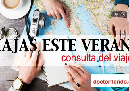 Viajas este Verano? Consulta Online.