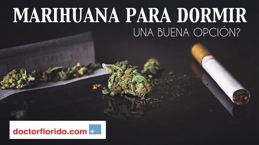 Marihuana para dormir