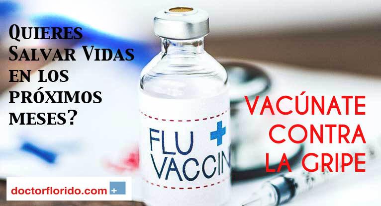 vacúnate contra la gripe