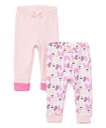 Set of Two Sweatpants - 0-12M
