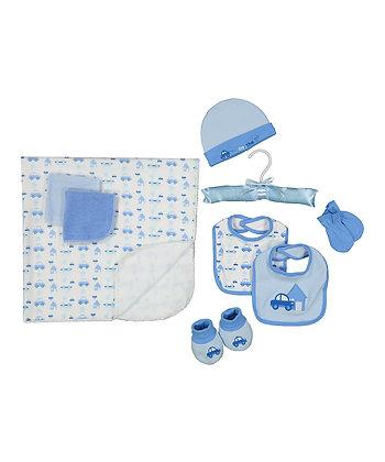 Nine-Piece Stroller Blanket Set