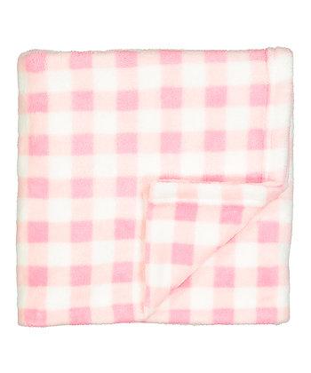 30'' x 30'' Gingham Stroller Blanket