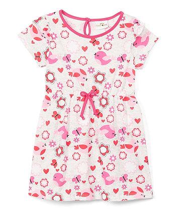 Chick Cap Sleeve Knit Dress - 2-4T