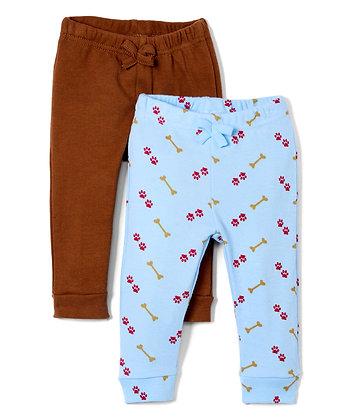 Set of Two Sweatpants - 0-12M