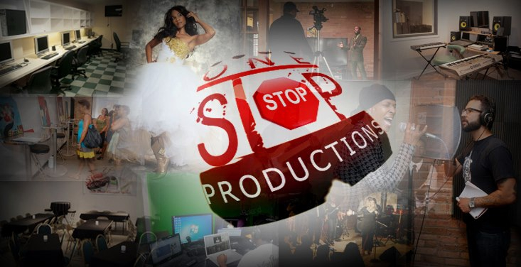 One Stop Productions Facebook banner