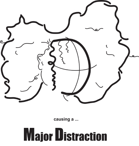Major Distraction Logo