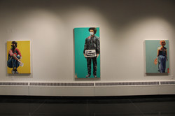 """MFA Thesis Exhibition, """"Who Do You See"""""""