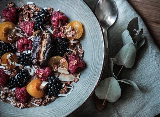 L'alimentation yogique (bonus: recette de porridge choco/coco/banane)