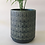 Thumbnail: Teal Patterned Cylinder Pots