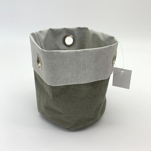 Hessian with Metal Eyelet Grey (VX35/36)