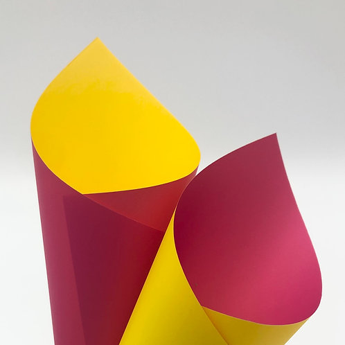Yellow/Hot Pink Premier Duo Pearl Sheets (PSH)