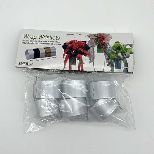 Oasis Wrap Wristlet White