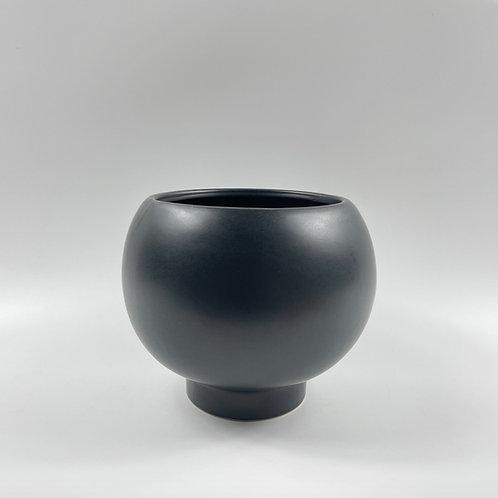 Fishbowl Pot Black (HXZ22)
