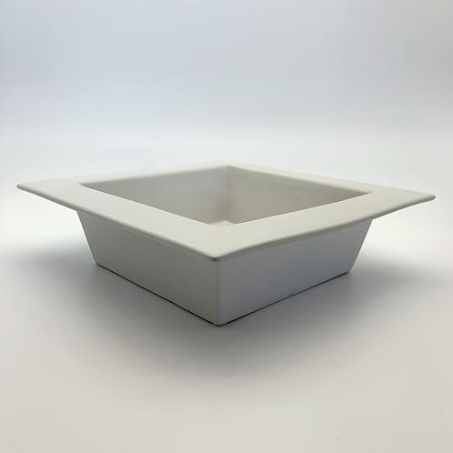 Square Ceramic Dish White (HX299W)