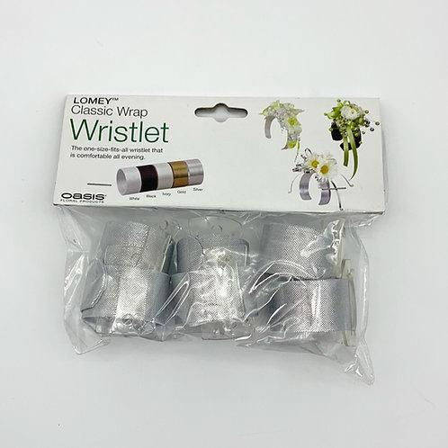 Oasis Wrap Wristlet Silver
