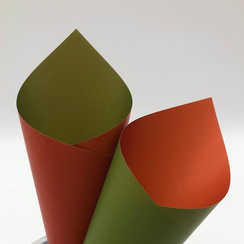 Avocado/Terracotta Premier Duo Pearl Sheets (PSH)