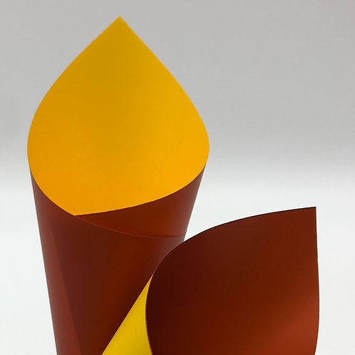Terracotta/Yellow Premier Duo Pearl Sheets (PSH)