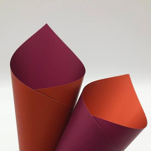 Plum/Terracotta Premier Duo Pearl Sheets (PSH)