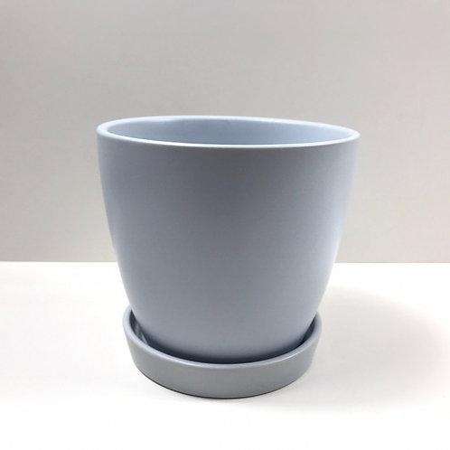 Jamie Ceramic Pot Duck Egg Blue (HXZ639S/L)