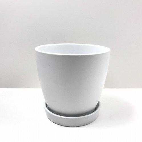 Jamie Ceramic Pot White (HXZ639S/L)