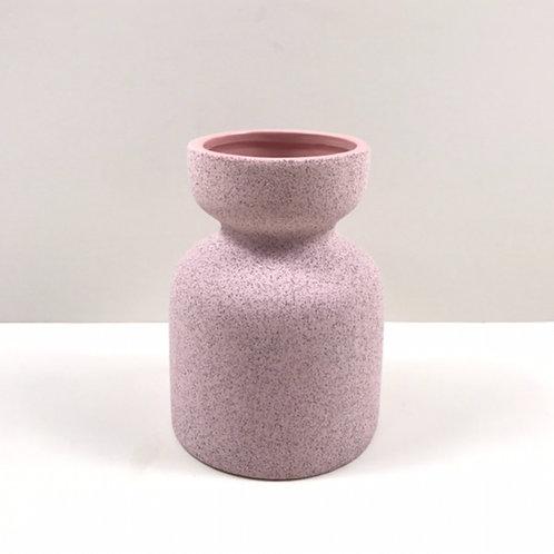 Cassie Ceramic Pot Pale Pink Pack of 6 (HXZ212)