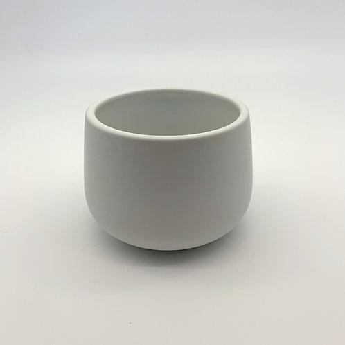 Smooth Edge Bowl Ceramic Pot (HXZ325M)