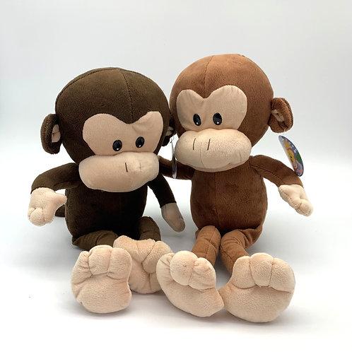 Large Brown Monkey Plush (MKL)