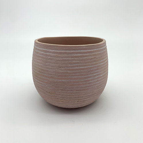 White Washed Ceramic Pot Terracota (HX51/61)