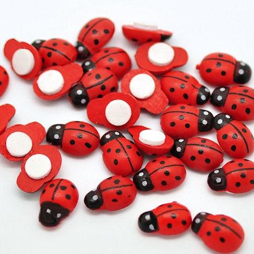 Ladybug Adhesives Box of 500 (LADY)