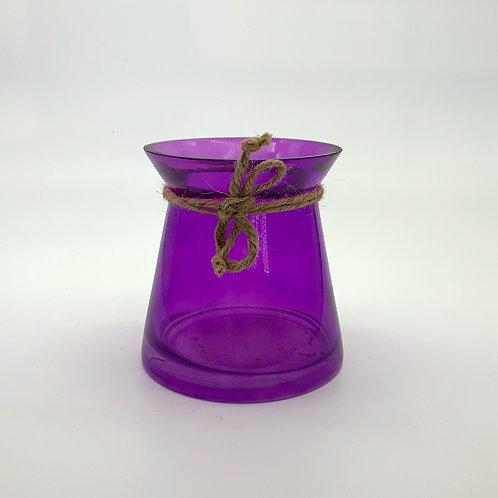 Purple Vase with Rope