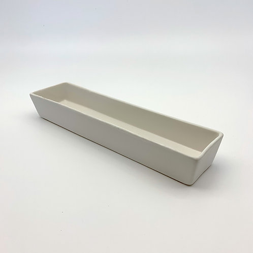 White Rectangle Dish