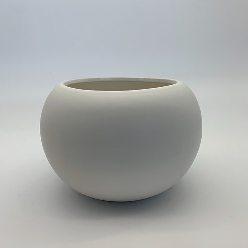 White Bowl Pot