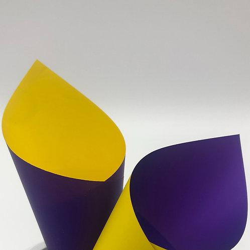 Yellow/Violet Premier Duo Pearl Sheets (PSH)