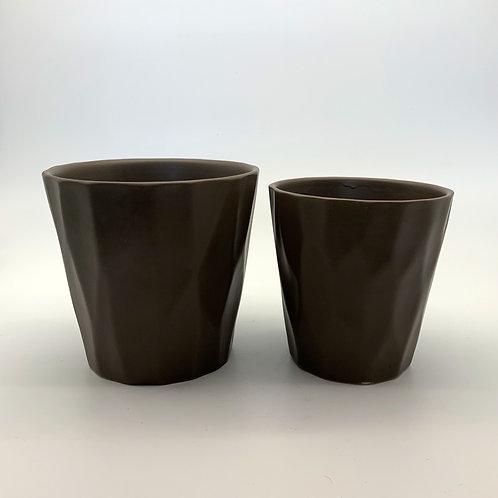 Cone Ceramic Pot Set Kabul (HX881)