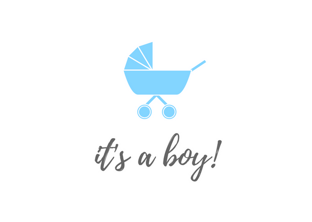 It's a Boy with Pram