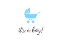 It's a Boy with Pram