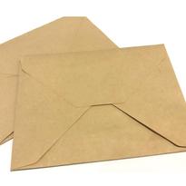 Natural Envelopes with Adhesive