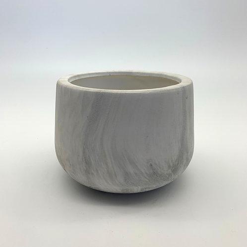 Cylinder Marble Pot (HXZ008)