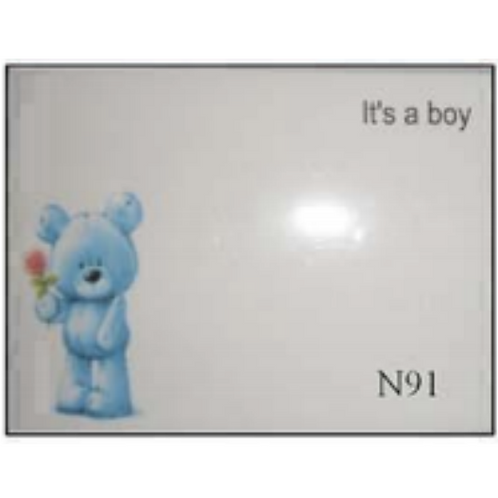 It's a Boy with Bear