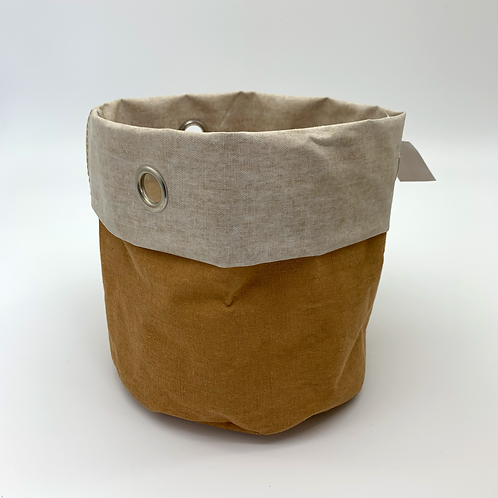 Hessian with Metal Eyelet Natural (VX35/36)