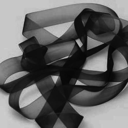 50mm Organza Ribbon Premium Cut