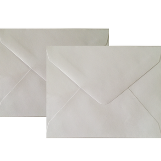 White Envelopes with Adhesive
