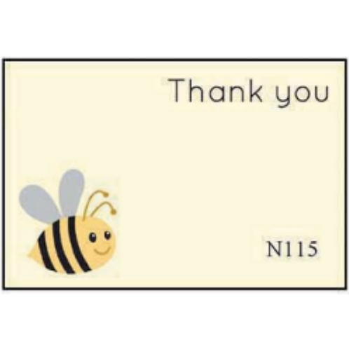 Thank You with Bee